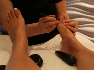 Reflexology treatment - Calgary